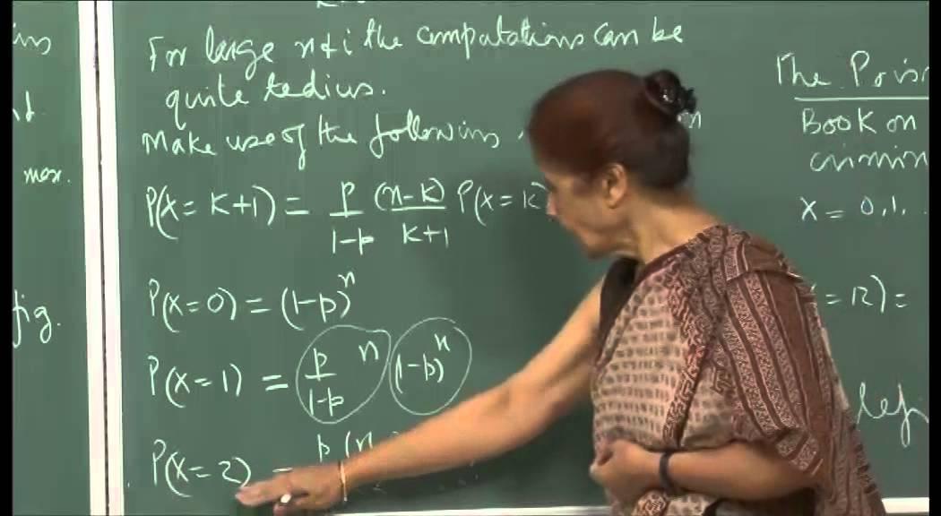 Mod-01 Lec-06 Discrete random variables and their distributions