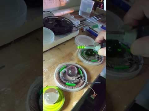 Keshe Magrav coils giving perpetual energy