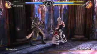 Soulcalibur V: Ittarra Oda (Ezio) Vs. Fakkukuroneko (Devil Jin) So many Just Guards