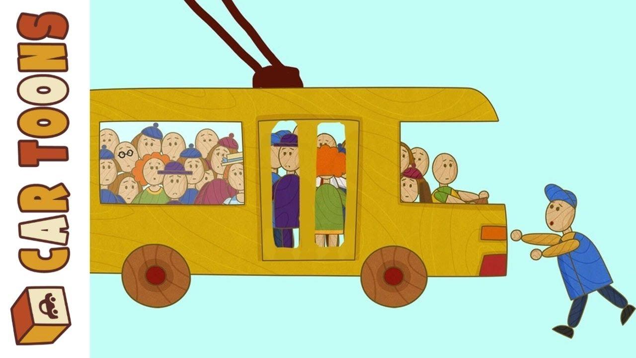 Car Toons Cars and Trucks. Rush Hour. A Car Cartoon.