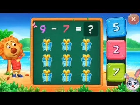 Math Kids - learn subtraction for kids Educational Games for kids - part 1