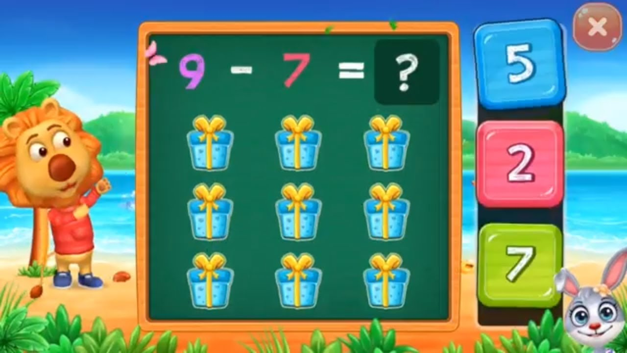 Math Kids Learn Subtraction For Kids Educational Games