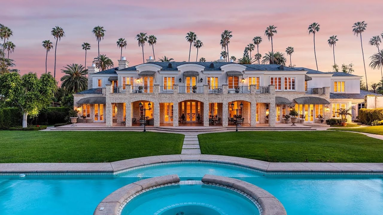 Luxury Mansions: Beverly Hills Traditional Luxury Mansion