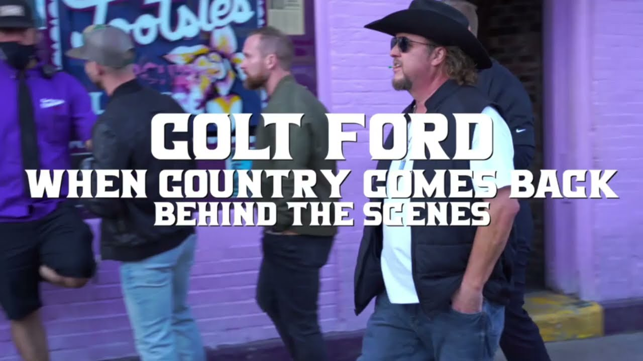 Colt Ford - When Country Comes Back (Behind The Scenes)