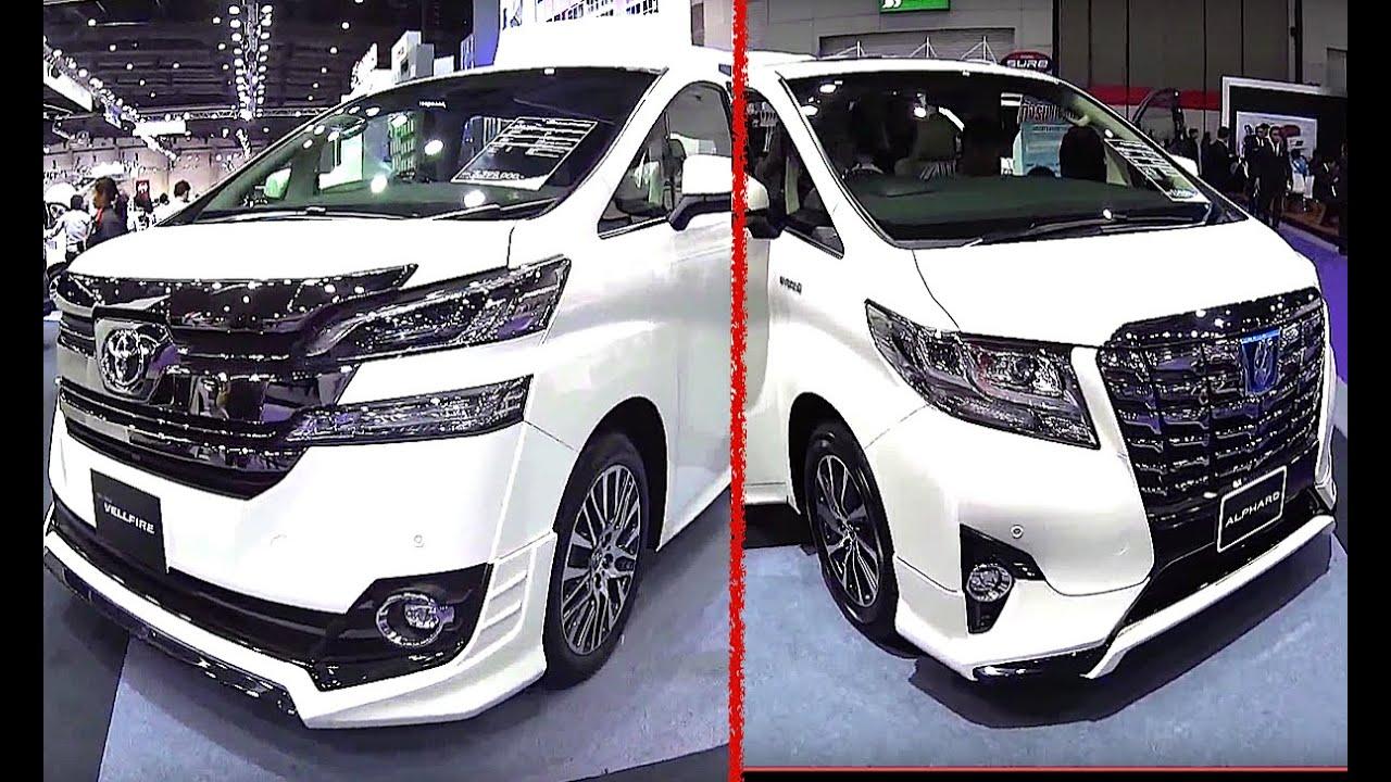 Best luxury vans toyota alphard vs toyota vellfire 2016 2017 model almost similar but so different youtube