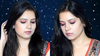 Blue Heaven- One brand makeup look in Hindi |Affordable makeup look ||TipsToTop By Shalini