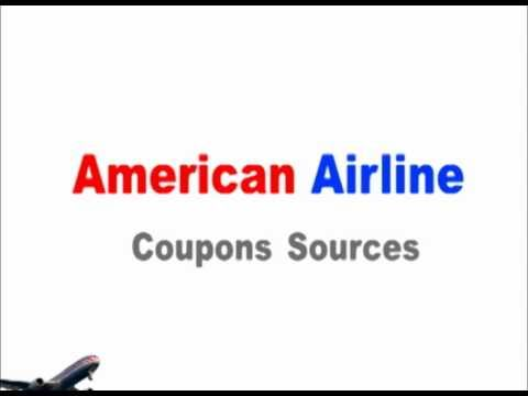 How To Get American Airline Coupons