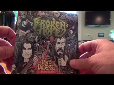 BROKEN HOPE - 'Live Disease' Unboxing the package!