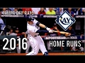 Tampa Bay Rays | 2016 Home Runs (216) video & mp3