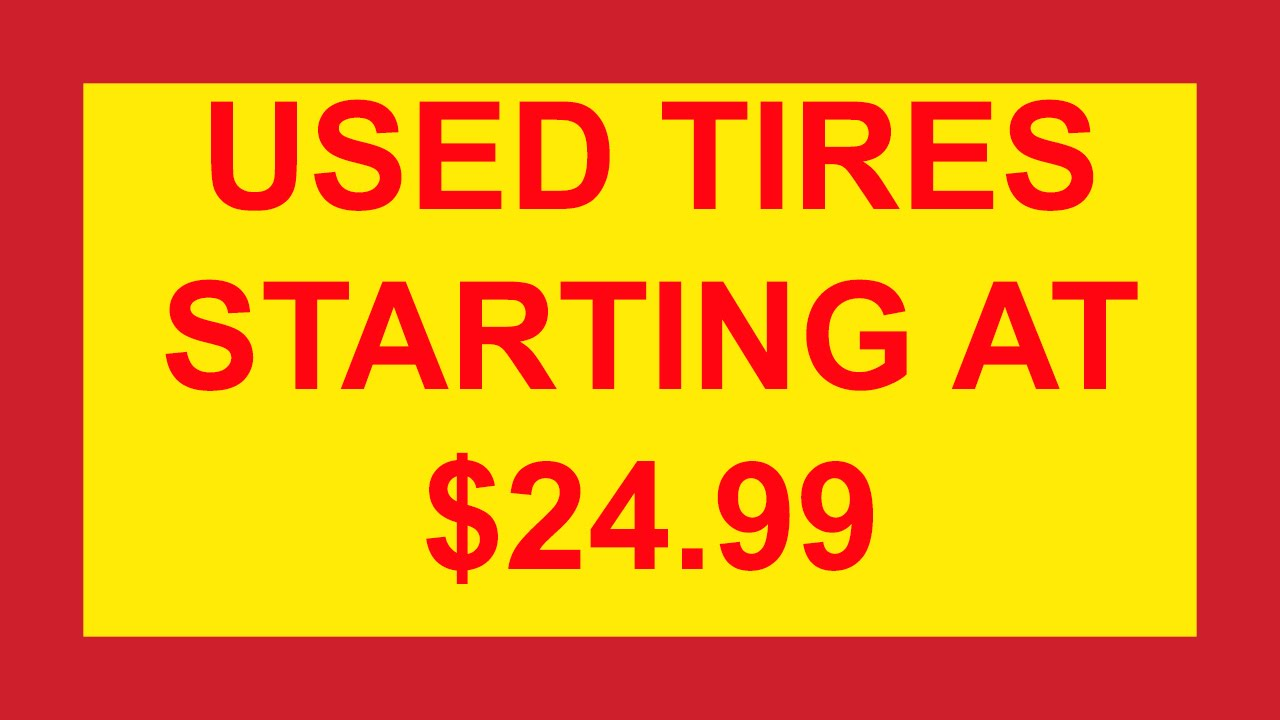 Cheap Tire Places >> Used Tires Kansas City Trailer Repair