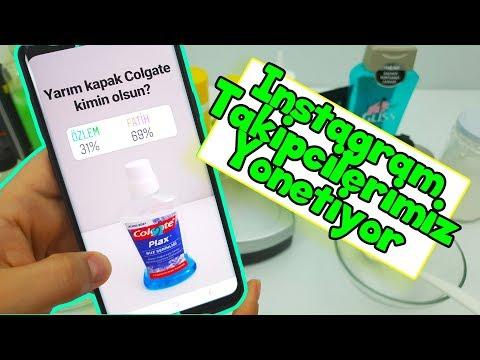 Instagram Takipçilerimiz Yönetiyor! Eğlenceli Slime Challenge - Vak Vak TV