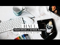 Minimal / Marble Home Decor + Stationery Haul 2017