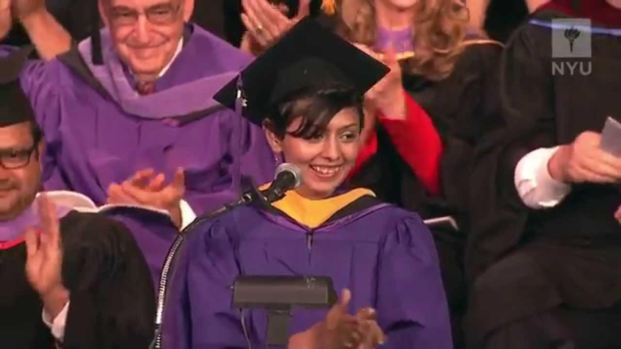 2014 NYU-SCPS Graduate Convocation - Sejal Daftari - YouTube