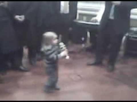 2 Year Old Dancing At Wedding