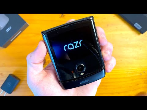 MOTOROLA RAZR 2020 Unboxing & First Impressions!