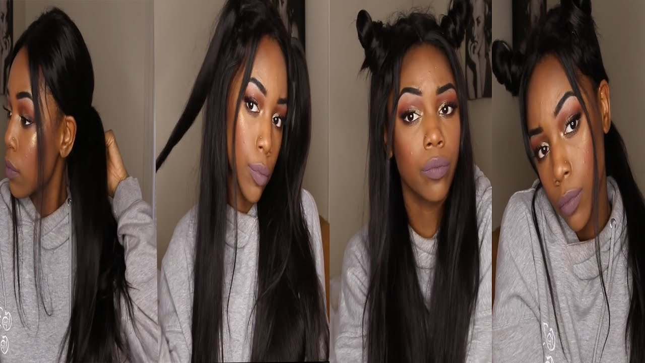 Weave Hairstyles For Black Women 5 Easy Hairstyles For Long Hair Vipbeauty Hair Youtube