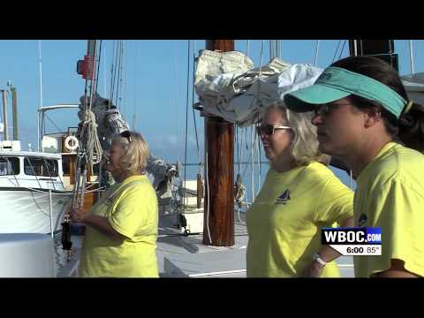 WBOC Races Aboard Skipjack Helen Virginia In Deal Island Race