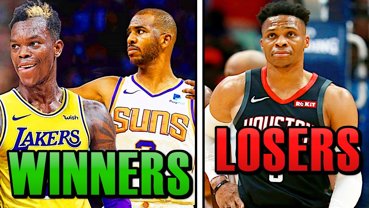 The Biggest Winners and Losers of The 2020 NBA Offseason