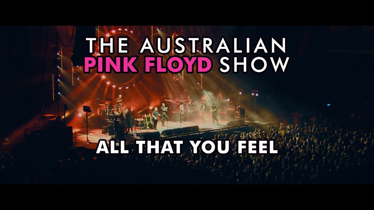 Pink Tour 2020.The Australian Pink Floyd Show All That You Feel Tour 2020