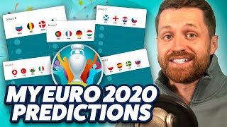 MY EURO 2020 PREDICTIONS