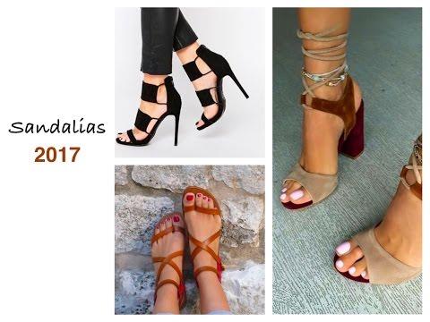Sandalias De Moda 2018 Tendencias 2018 Calzado De Mujer Youtube