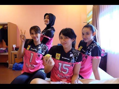 Deretan Atlet voli cantik Indonesia