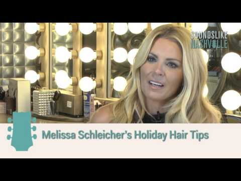 Hair & Makeup Artist Melissa Schleicher's Holiday Hair Tips