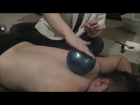 Rolling Back Massage - Soft Spoken ASMR