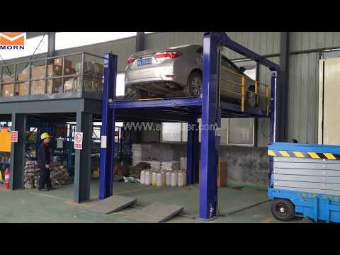 Four-post Cargo Lift, Goods Lift For Factory Warehouse to Lift Your Car to Two Floor