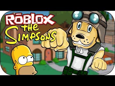 ROBLOX - Visitando a los Simpsons - The Simpsons Showcase