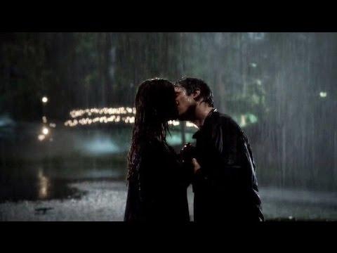 Damon and Elena 6x07 Rain Kiss (Full)