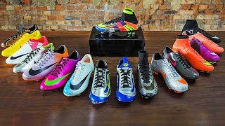 TOP 10 - Cristiano Ronaldo CR7 Football Boots (2003-2018) thumbnail