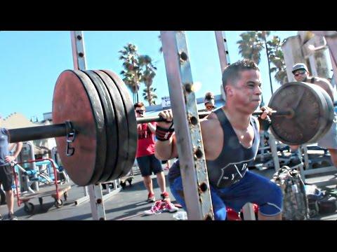 Muscle Beach Workout