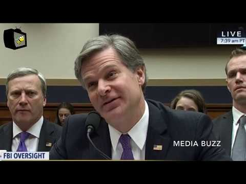Congressman Goodlatte Grills New FBI Director On Corruption in Hillary Clinton Investigation 12/7/17