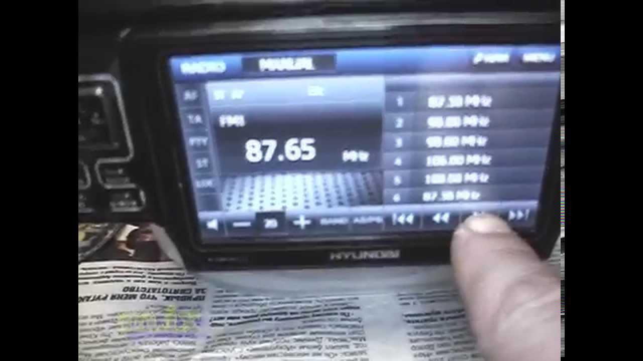 перепрошить hyundai h-cmd2009g