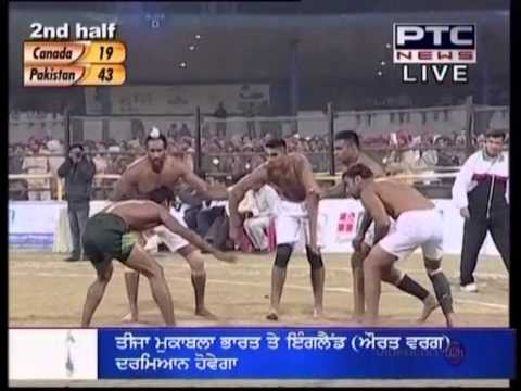 3rd World Cup Kabaddi 12th Dec 2012  Canada vs Pakistan  Semi FInal Part 2.mpg Travel Video