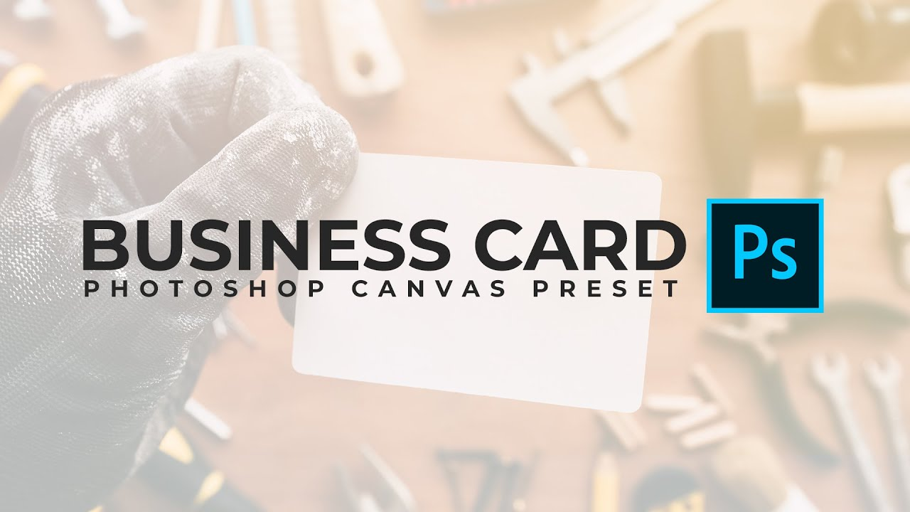 How to save a business card canvas preset in photoshop youtube how to save a business card canvas preset in photoshop magicingreecefo Gallery