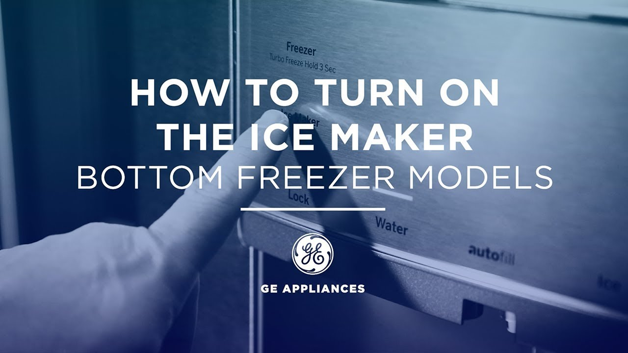 Refrigerator - How to Turn Icemaker On or Off