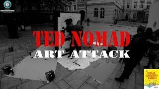 Ted Nomad, Art Attack -  Stencils - Toiles Contemporaines 2014 Thumbnail