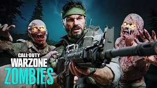 FIRST GAMEPLAY of ZOMBIES in WARZONE! (Call of Duty Zombie Royale)
