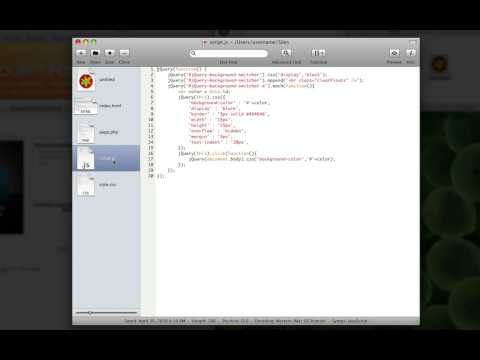 Video Review: Smultron, A Free Text Editor For Mac OS X.