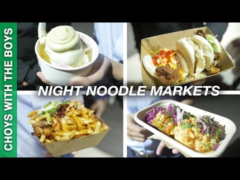 NIGHT MARKET in the Quay! (Night Noodle Markets Perth)