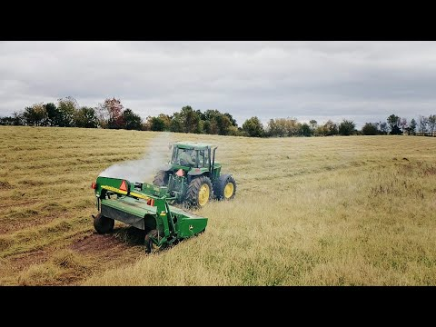 I Smoked The Mower Drive Belt | Mowing Hay