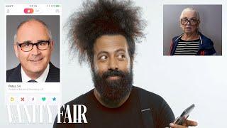 Reggie Watts Hijacks a Stranger's Tinder | Vanity Fair