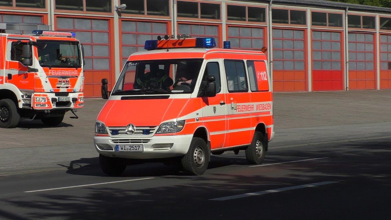 [2 Reserve Fahrzeuge] Basiszug der Berufsfeuerwehr Wiesbaden Fw 1