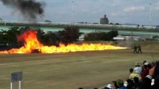 陸上自衛隊 火炎放射 模擬戦 thumbnail