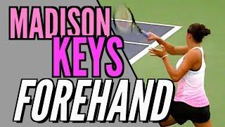 Swing Analysis - Madison Keys Forehand