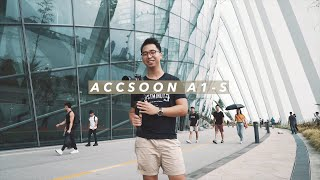Is the ACCSOON A1-S gimbal any good?