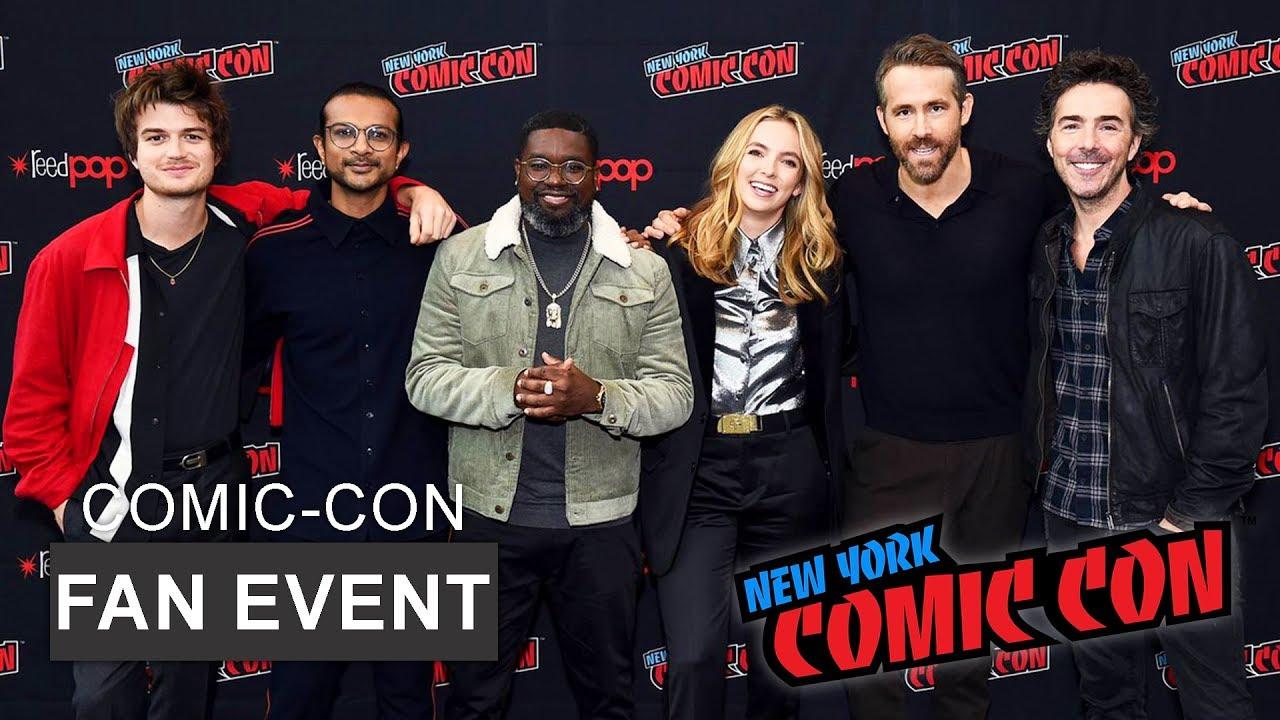 New York Comic Con 2020.Free Guy 2020 Panel Cast Interview New York Comic Con 2019