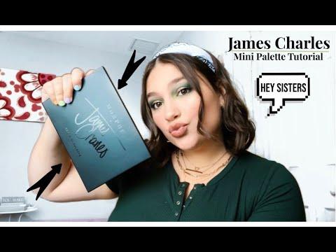 James Charles Mini Palette Tutorial! ♡ thumbnail